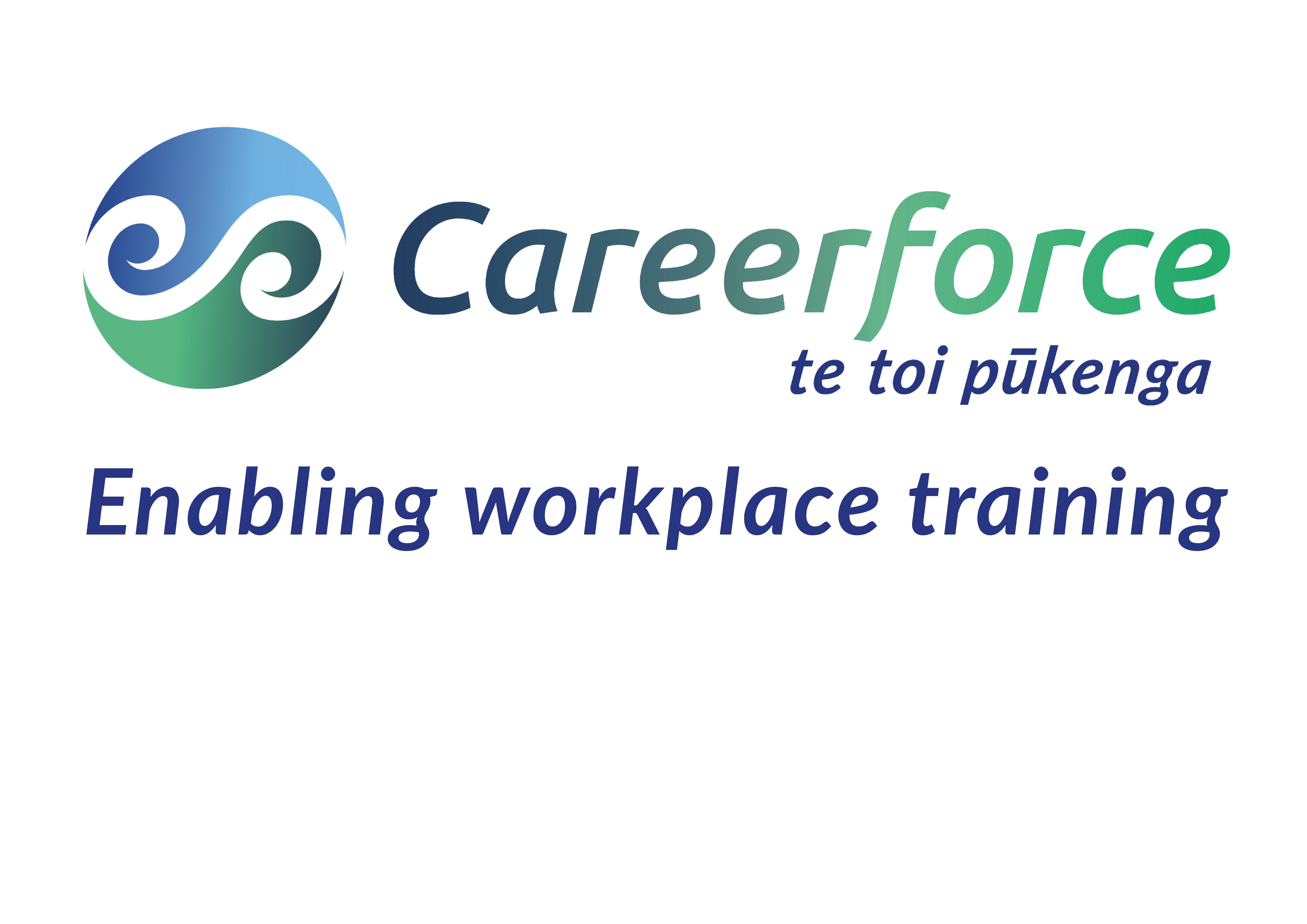 Careerforce logo with tagline